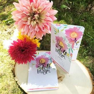 Live in Full Bloom Planner