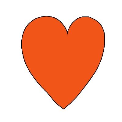 Hoe teken je een symbool voor liefde hart gezondheid
