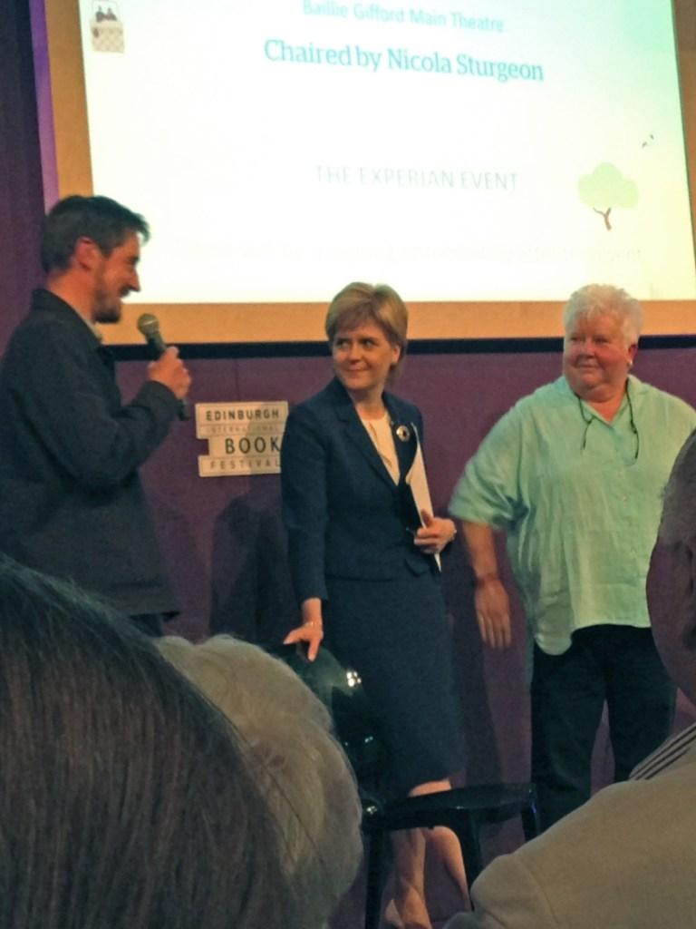 EdBookFest: Val McDermid & Nicola Sturgeon