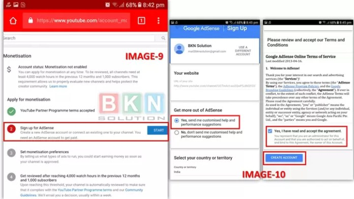 How to enable monetization on youtube 2019 in Hindi