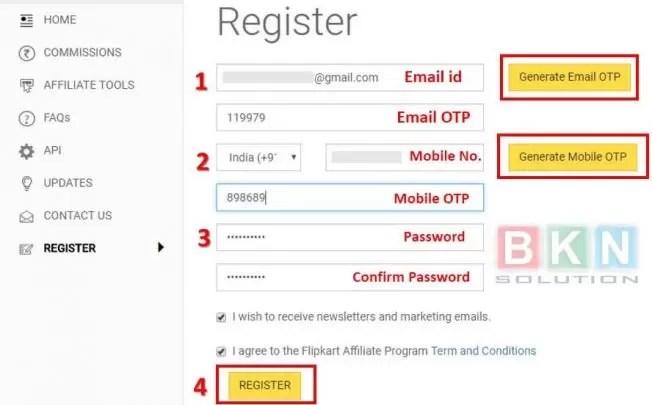 Flipkart Affiliate Marketing Program se paise kaise kamaye?