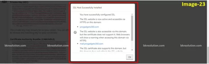 Visual Guide to Installing a Let's Encrypt SSL on GoDaddy cPanel in Hindi?