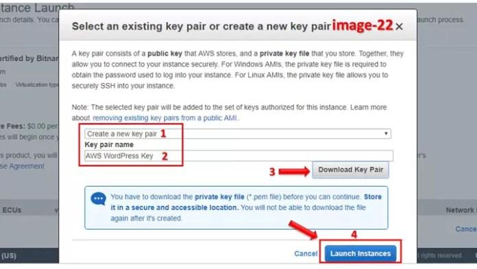 Amazon me WordPress kaise install kare?