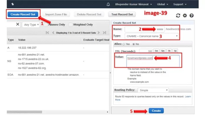How to Create a Hosted Zone in Aws WordPress Website or Blog in Hindi?