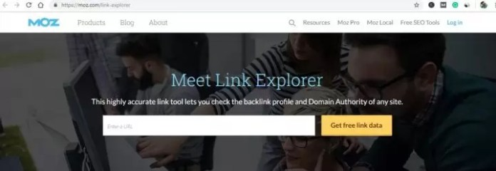 Moz Link Explorer Backlink Checker Tools in Hindi