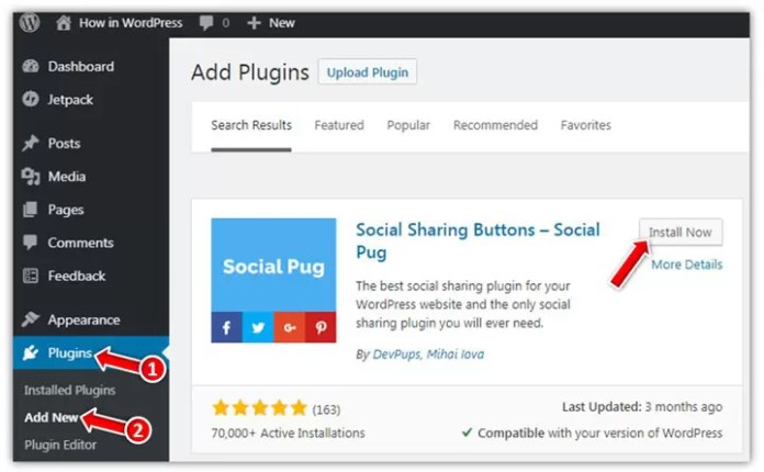 How to Add Social Share Buttons below the Post in WordPress in Hindi