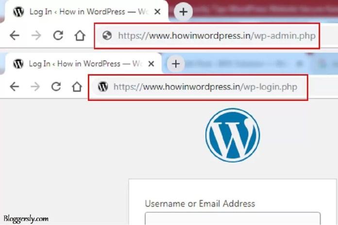 How to Change Default Login URL in WordPress in Hindi