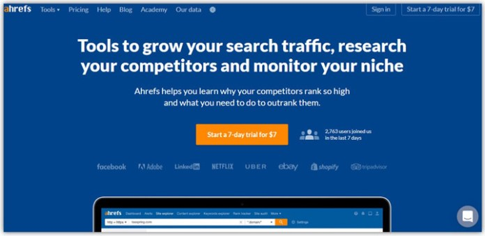 Ahrefs a Best Powerful Keyword Research Tool