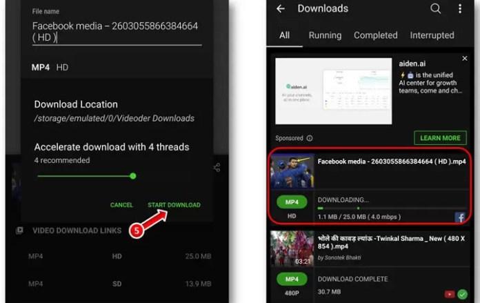 Kaun si App se Facebook Video Download Kare?