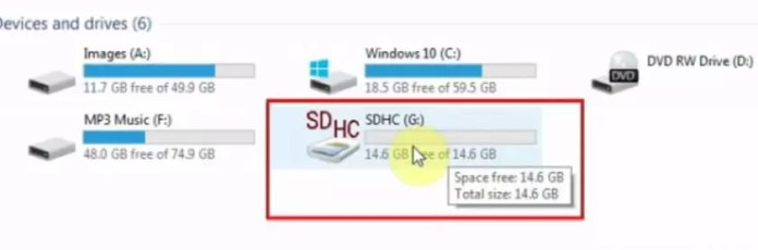How to format SD card to FAT32 On Windows 10 in Hindi