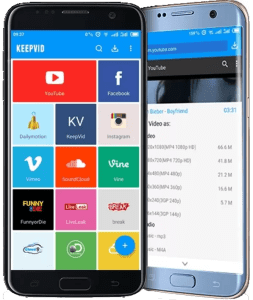KeepVid Video Downloader Android App