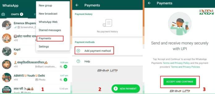 WhatsApp Payment Setup Kaise Kare in Hindi?