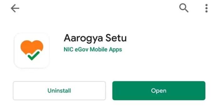 Install Aarogya Setu Android Mobile App
