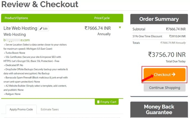 How to Buy Web Hosting fro A2Hosting in Hindi?