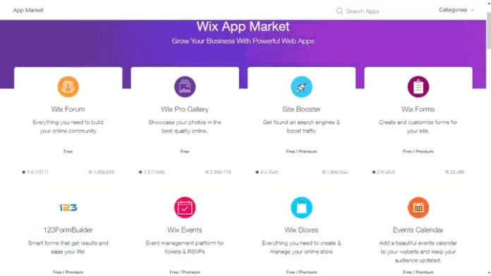 Wix App Store