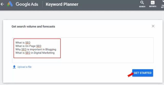 Google Keyword Planner Ko Kaise Use Kare in Hindi?