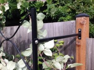 raspberry trellis detail of bracket - s - Beaverton 9' W x 5' H