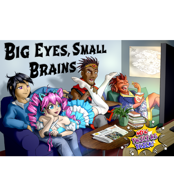 Big Eyes Small Brains Kickstarter Complete and Funded