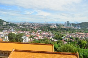 View of Penang from the top.
