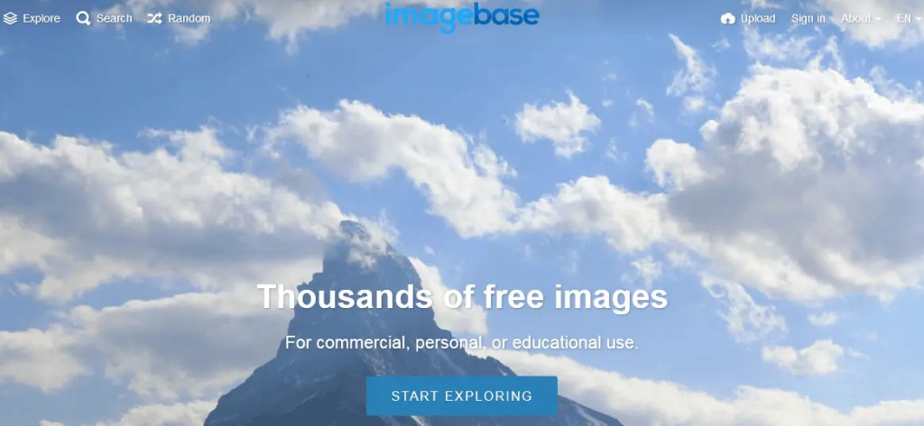 Free Stock Photography Images Using The Imagebase Website