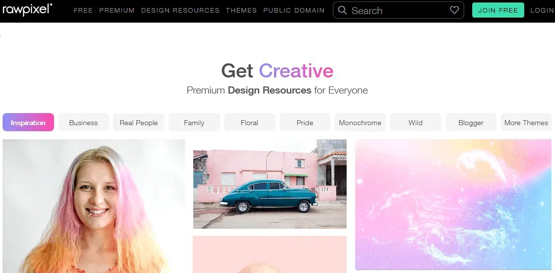 Free Stock Photography Images Using The Raw Pixel Website