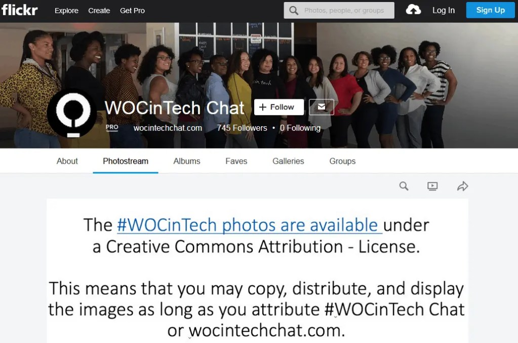 Women Of Color In Tech Chat Creative Commons Images For Free Use As Stock
