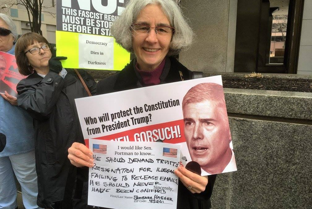 Resist Trump Tuesdays rally at Sen. Portman's office, every Tuesday at noon