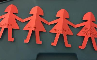 Reunite Families Now Play date at Stivers