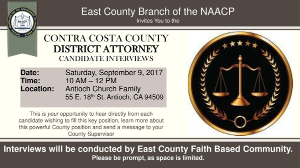 District Attorney Forum