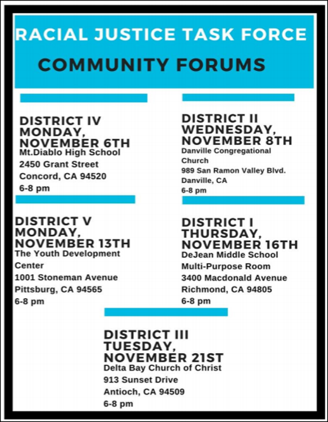 Contra Costa County Racial Justice Task Force