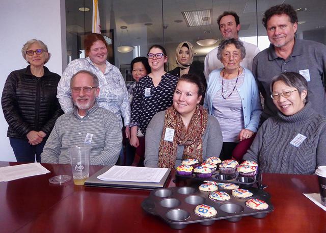 Senator Feinstein office visit