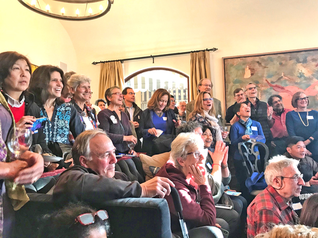 TJ Cox celebration party, photo by Mary McFarland