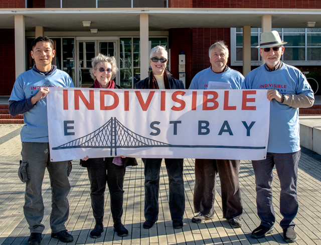 IEB members Ted, Heidi, Toni, George and Ted strike a pose