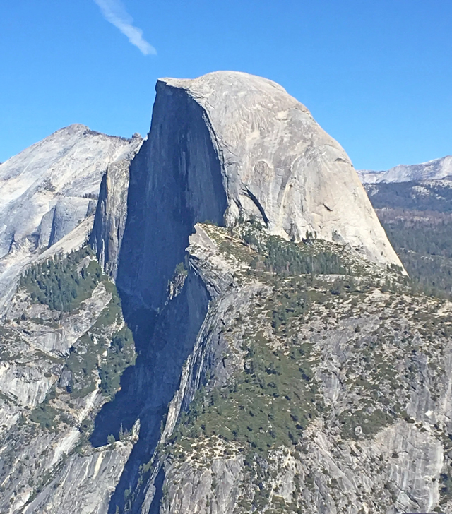 Half dome, photo by Ann Daniels