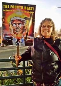 No Witnesses, No Fair Acquittal protest, El Cerrito 2/5/20, photo by Heidi Rand