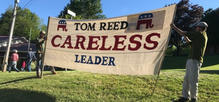 On the Outside: A Report from Tom Reed's Trumansburg Town Hall