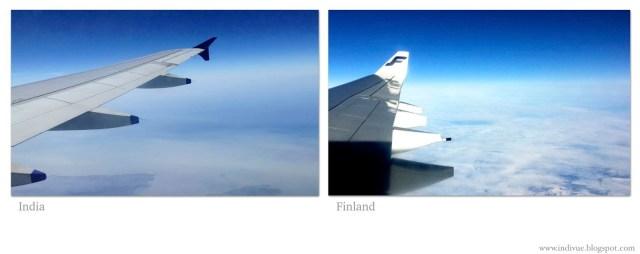Suomalaiset ja intialaiset siivet