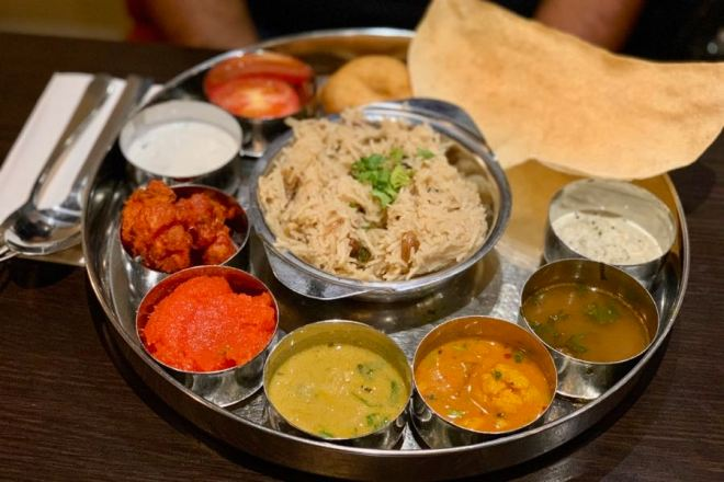 Saravanaa Bhavan Combo 5 Executive Lunch