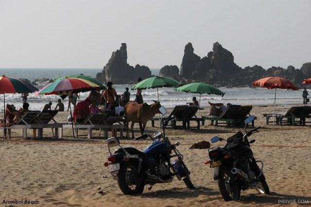 Kaikki Goan rannat 4