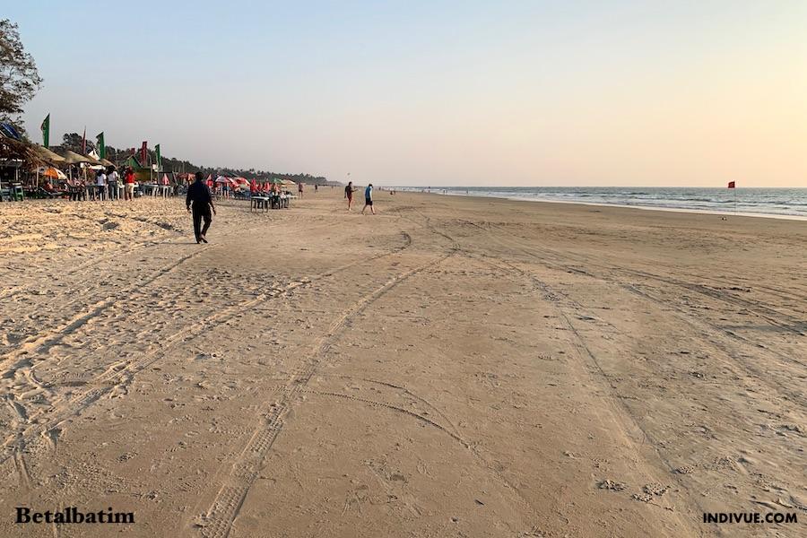 Betalbatim Beach Etelä-Goassa 1