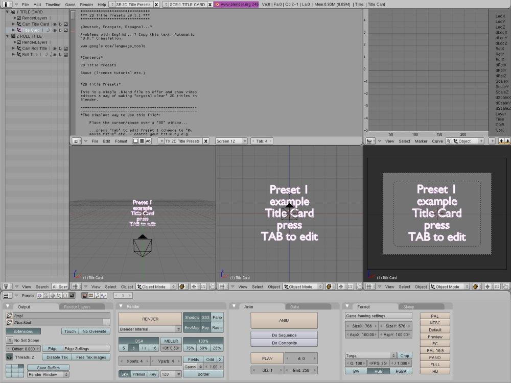 Blender Video Sequence Editor: Quick Start (2/3)