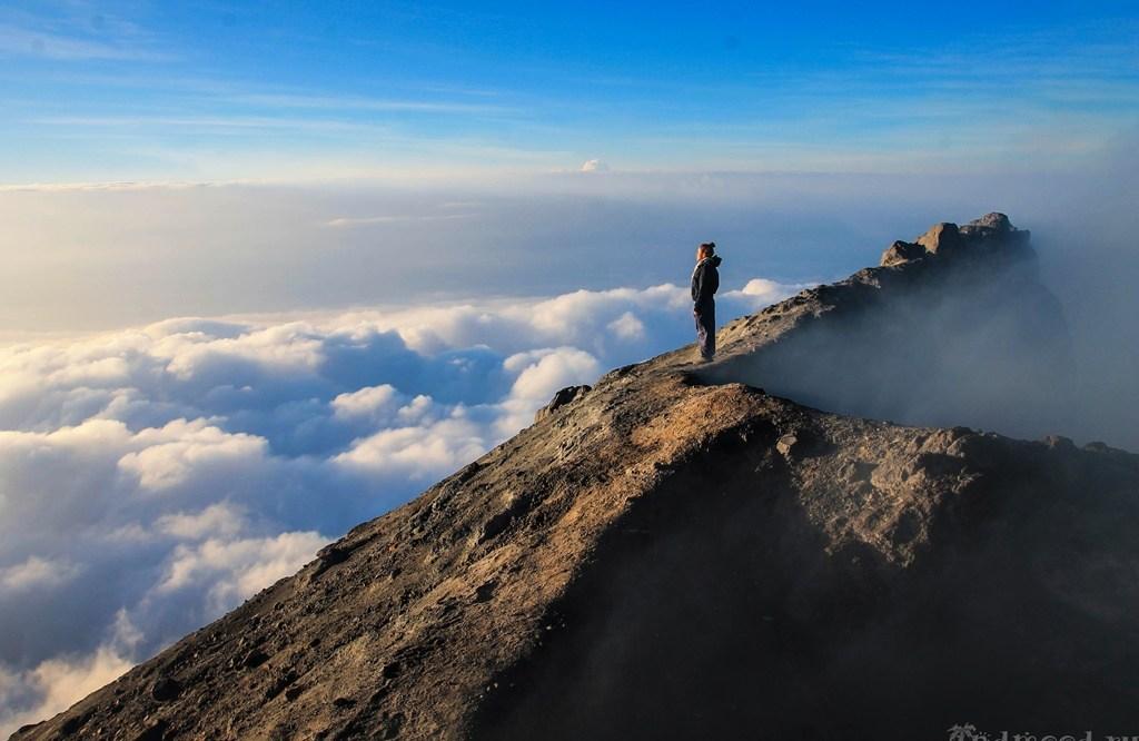 Вулкан Мерапи. Самостоятельное восхождение.