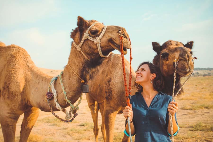 Золотой город Джайсалмер: сафари