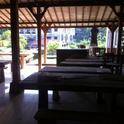 New Restaurant with Ayung River View for sale in Bali