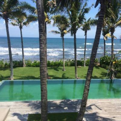 Beach front villa for sale in Ketewel, Bali