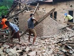 3.682 Rumah di Malang Hancur Akibat Gempa