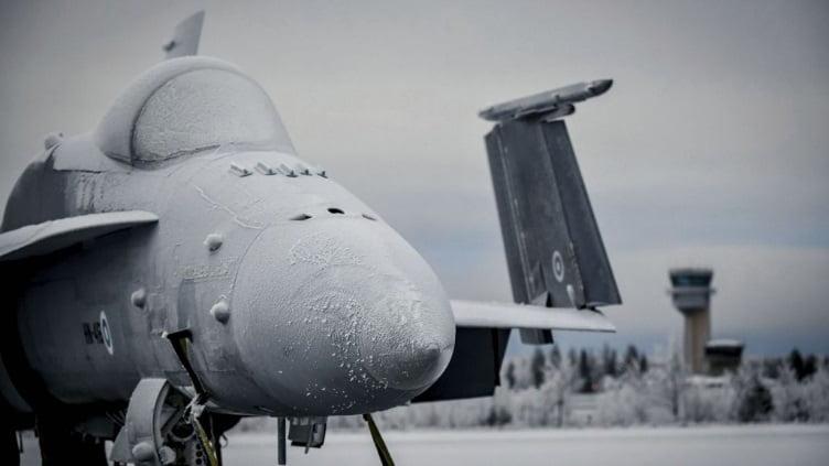 pesawat tempur F/A-18C/D Hornet Angkatan Udara Finlandia
