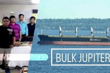 MV Bulk Jupiter case