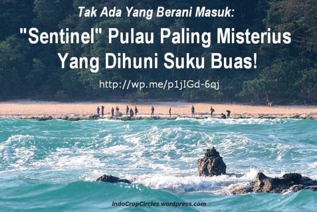 """Byuti Sweet: Tak Ada Yang Berani Masuk: """"Sentinel"""" Pulau ..."""