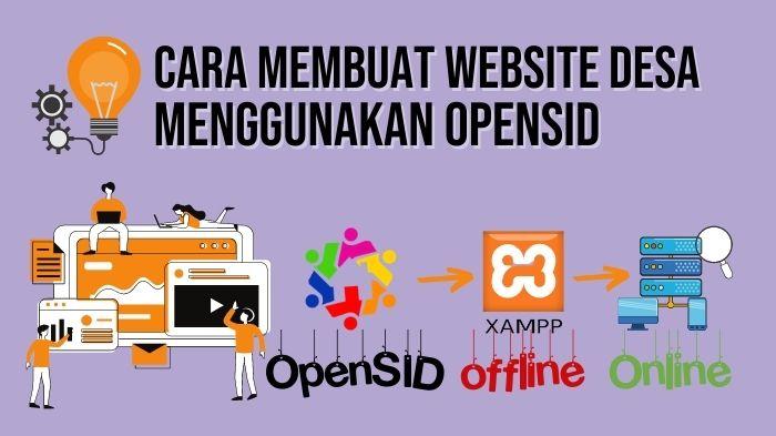 Cara Membuat Website Desa Menggunakan CMS OpenSID, Offline Dan Online